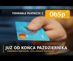 terminale płatnicze, integracja z ObSp