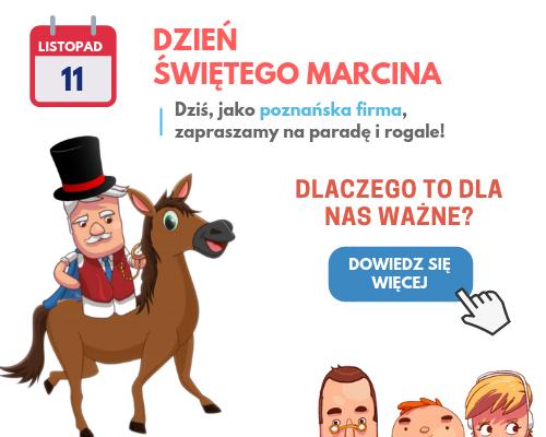 dzien swietego marcina, 11.11, poznanska firma